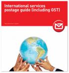 International Services Postage Guide (includes GST)