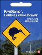 20 x KiwiStamp postage stamps booklets, 10 stamps per booklet