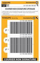 Courier Upgrade Prepaid Ticket