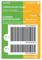 Courier Within Island Excess Prepaid Ticket
