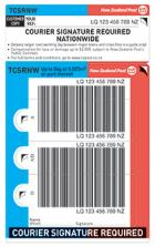 Courier Signature Required Nationwide Base Prepaid Ticket