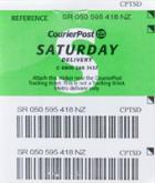 Saturday Delivery Prepaid Ticket