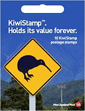 KiwiStamp postage stamp booklet