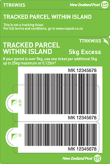 Tracked Within Island Excess Prepaid Ticket