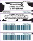 Rural Delivery Prepaid Ticket