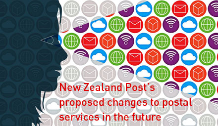 New Zealand Post's  proposed changes to postal services in the future