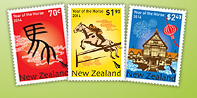 Celebrate the Year of the Horse with stamps