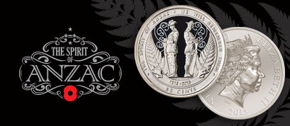New Zealand's first commemorative circulating coin