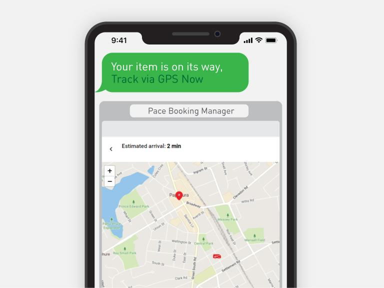 pace notification gps-tracking